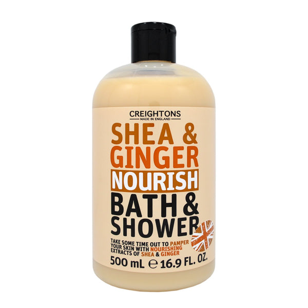 Creightons Shea & Ginger Nourish Bath & Shower 500ml