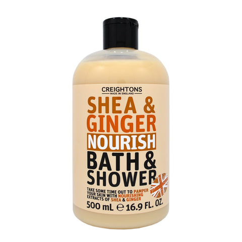 Shea & Ginger Nourish Bath & Shower 500ml