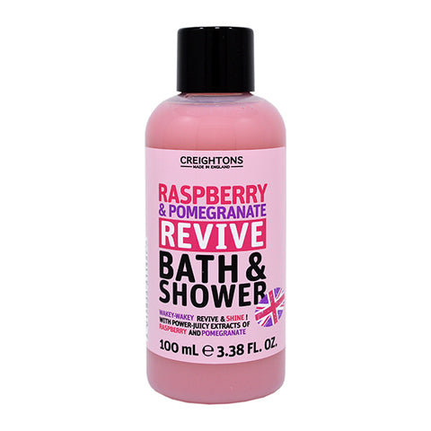 Creightons Raspberry & Pomegranate Revive Bath & Shower Travel Size 100ml