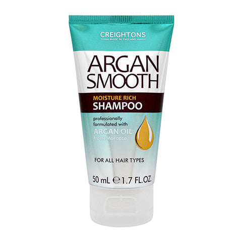 Argan Smooth Moisture Rich Shampoo Travel Mini 50ml