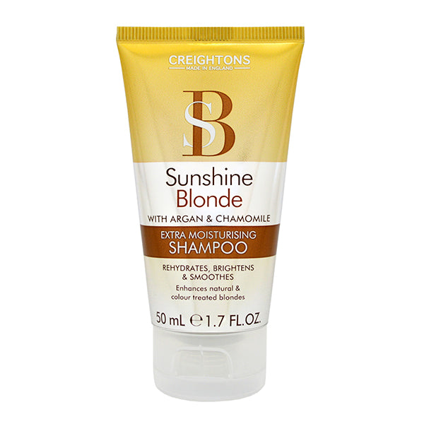 Sunshine Blonde Extra Moisturising Shampoo Travel Mini 50ml