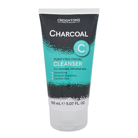 Creightons Charcoal Purifying Facial Cleanser 150ml