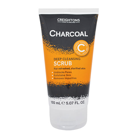 Creightons Charcoal Deep Cleansing Scrub 150ml