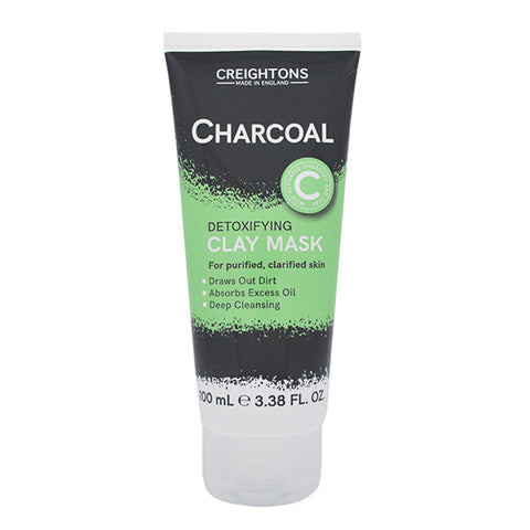 Creightons Charcoal Detoxifying Clay Mask 100ml