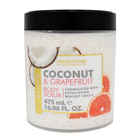Creightons Coconut & Grapefruit Revive Body Scrub 475ml