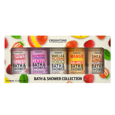 Creightons Bath & Shower Collection 5 x 100ml