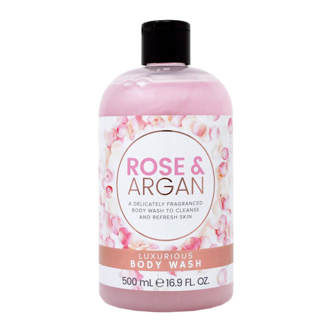 Rose & Argan Luxurious Body Wash 500ml