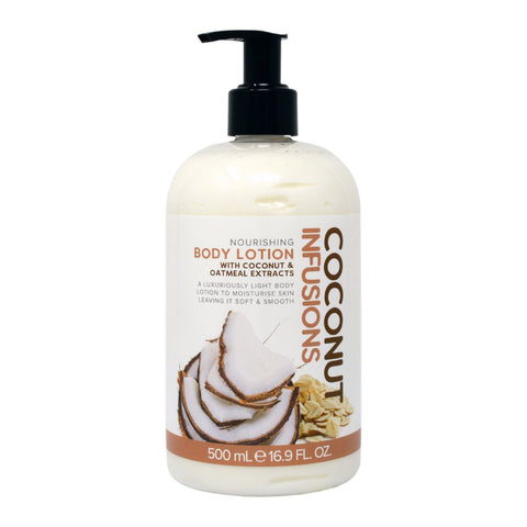 Coconut Infusions Coconut & Oatmeal Nourishing Body Lotion 500ml