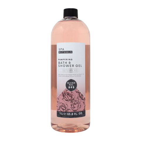 Spa Rituals Autumn Rose Pampering Bath & Shower Gel 1L