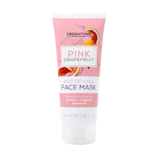 Creightons Pink Grapefruit Mattifying Face Mask 100ml
