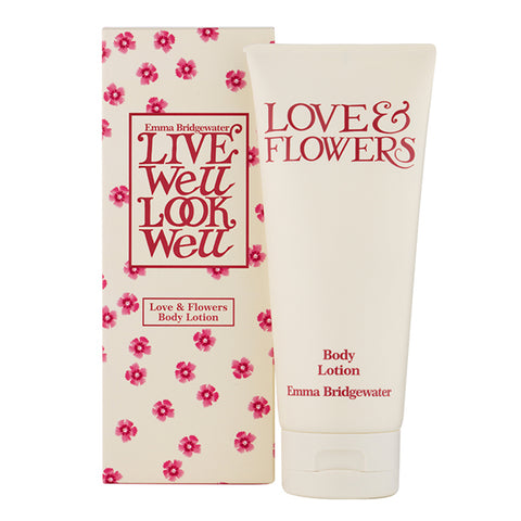 Emma Bridgewater Love & Flowers Body Lotion
