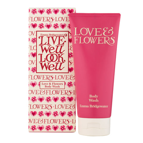 Emma Bridgewater Love & Flowers Body Wash