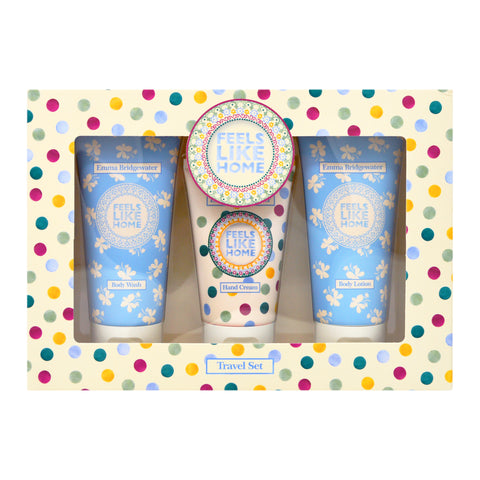 Emma Bridgewater True Love & Roses Travel Set