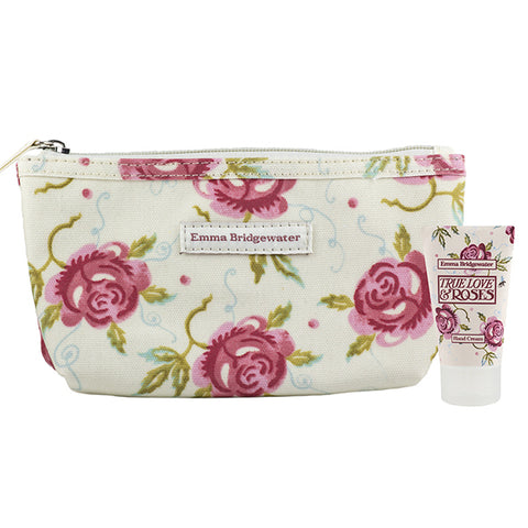 Emma Bridgewater True Love & Roses Cosmetic Purse