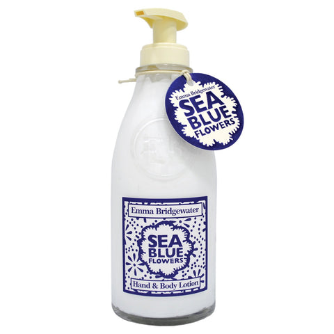 Emma Bridgewater Sea Blue Flowers Hand & Body Lotion 300ml