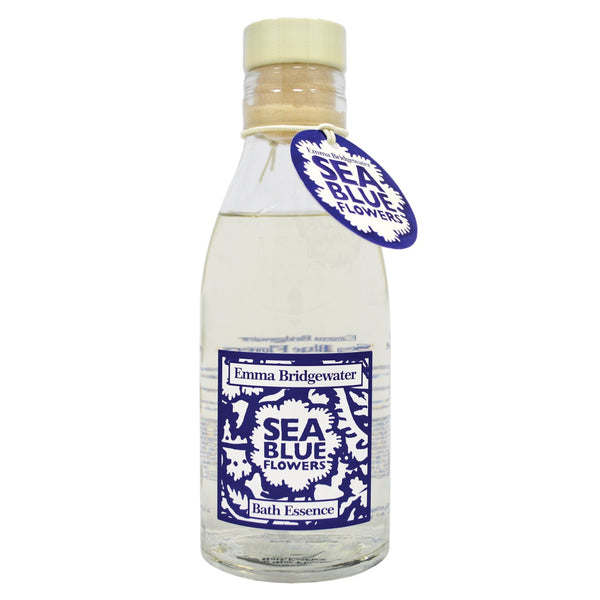 Emma Bridgewater Sea Blue Flowers Bath Essence 285ml
