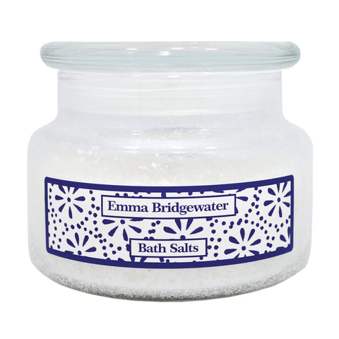 Emma Bridgewater Sea Blue Flowers Bath Salts 350g