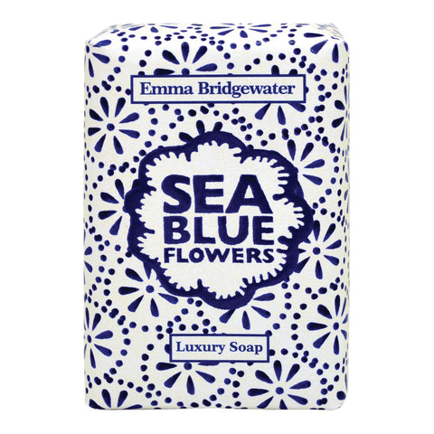 Emma Bridgewater Sea Blue Flowers Luxury Soap 150g