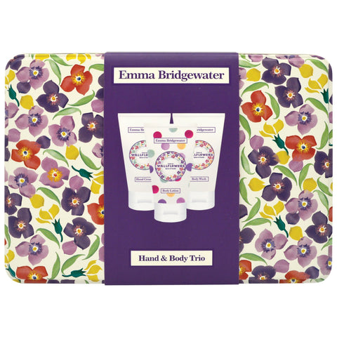 Emma Bridgewater Wallflowers Hand & Body Trio 3 x 35ml