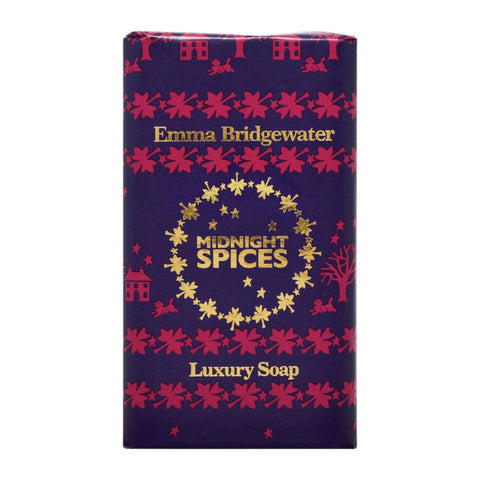Emma Bridgewater Midnight Spices Luxury Soap 200g