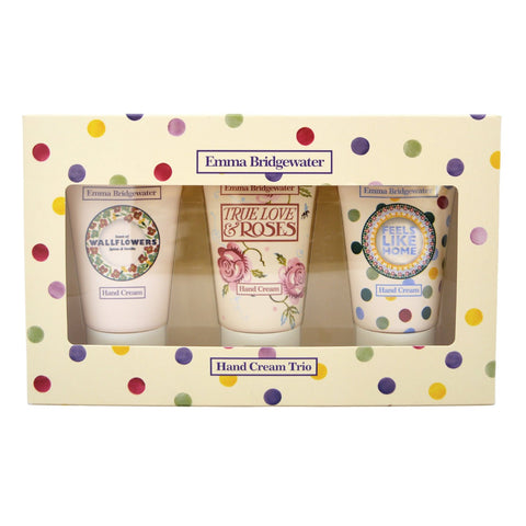 Emma Bridgewater Hand Cream Trio 3 x 35ml