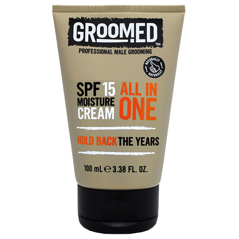 Groomed All In One SPF15 Moisture Cream 100ml
