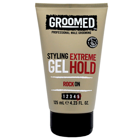 Groomed Extreme Hold Styling Gel 125ml