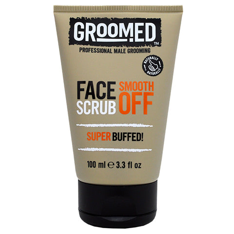 Groomed Face Scrub Smooth Off 100ml