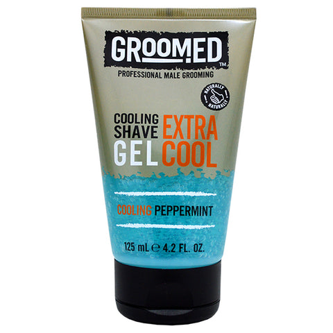 Groomed Extra Cool Cooling Shave Gel 125ml