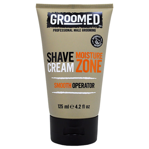Groomed Moisture Zone Shave Cream 125ml