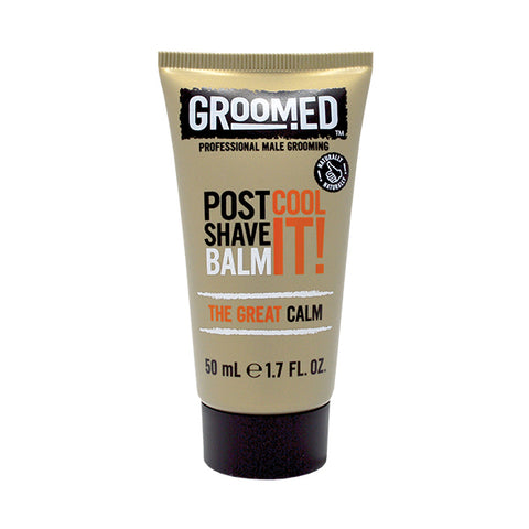 Groomed Cool It! Post Shave Balm Travel Mini 50ml