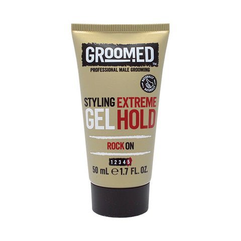 Groomed Extreme Hold Styling Gel Travel Mini 50ml