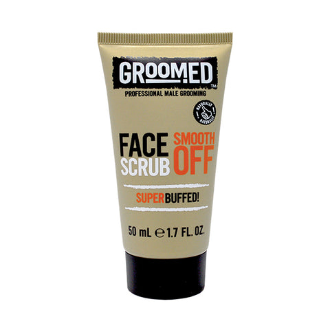 Groomed Smooth Off Face Scrub Travel Mini 50ml