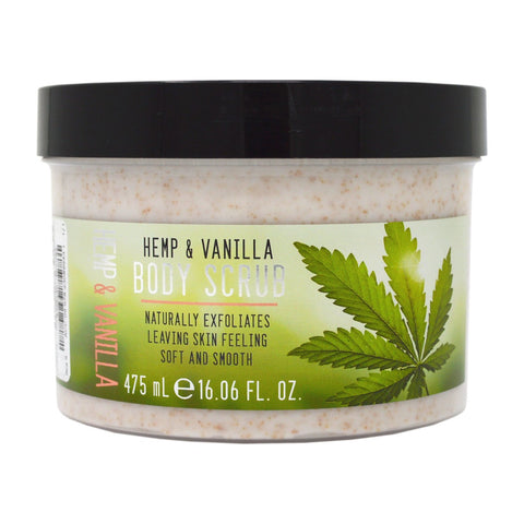 Creightons Hemp & Vanilla Body Scrub 475ml