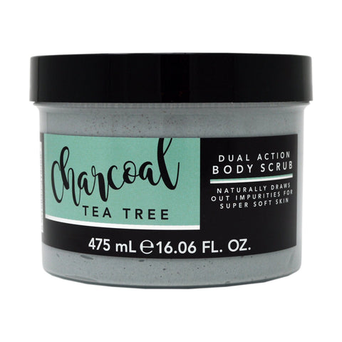Bath Rituals Charcoal & Tea Tree Dual Action Body Scrub 475ml
