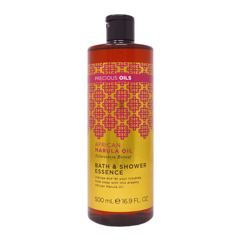 Precious Oils African Marula Oil Bath & Shower Essence 500ml