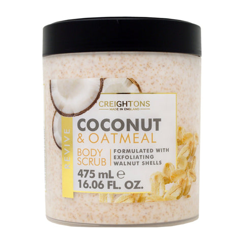 Creightons Coconut & Oatmeal Revive Body Scrub 475ml