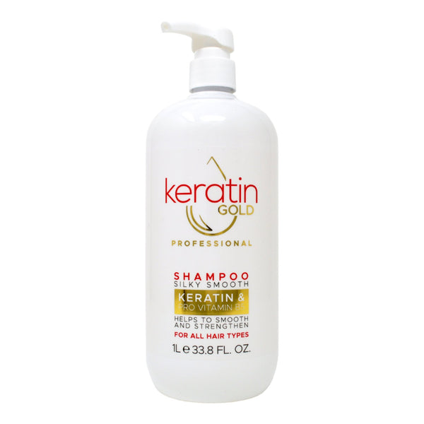 Keratin Gold Professional Silky Smooth Shampoo 1L