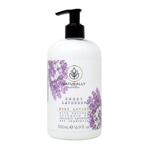 Naturally Inspired Sweet Lavender Body Lotion 500ml