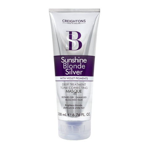 Sunshine Blonde Silver Deep Treatment Tone Correcting Masque 200ml