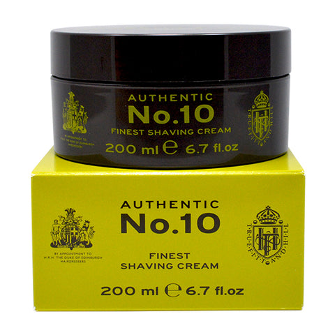 Truefitt & Hill Authentic No. 10 Finest Shave Cream 200ml