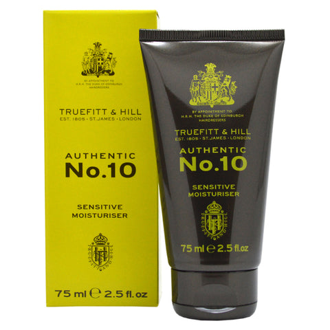 Truefitt & Hill Authentic No. 10 Sensitive Moisturiser 75ml