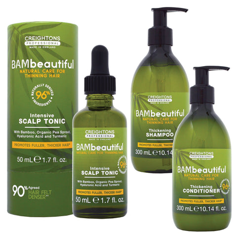 Bambeautiful Intensive Scalp Tonic with FREE Thickening Shampoo & Conditioner