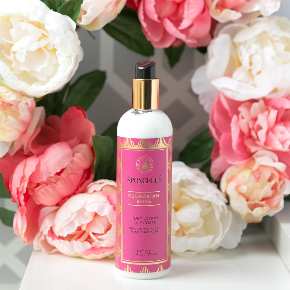 Spongelle Bulgarian Rose  Lotion
