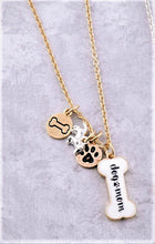Dog Mom Charm Necklace
