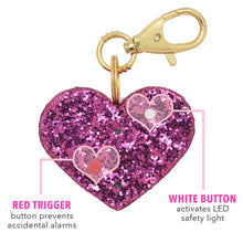 BlingSting Ahhlarm   Personal Security Alarm  Pink Glitter