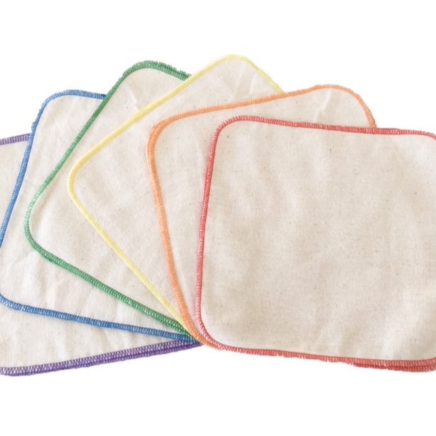 Luludew Cotton Wipes (12 Pack)