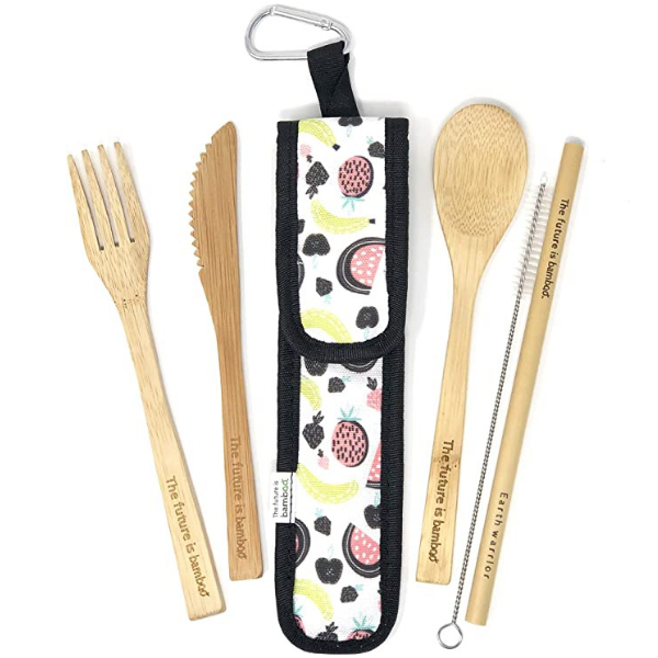 The Future is Bamboo Utensil Kit - Fruits