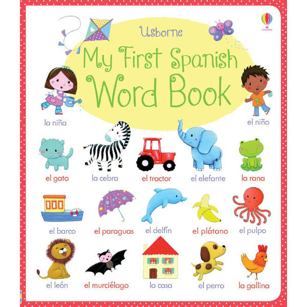 Usborne My First Spanish Word Book