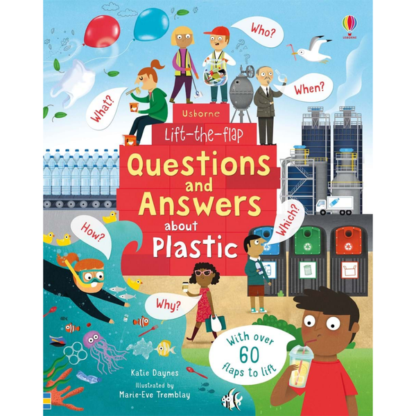 Usborne Q and A Flap Book about Plastic